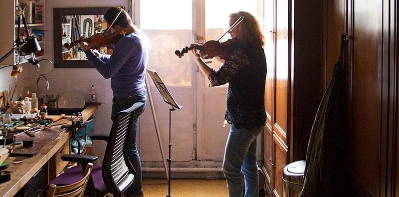 Violin Whisperers, Paris, Airbnb Music Experiences