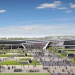New Aberdeen Exhibition and Conference Centre (AECC), artist's impression