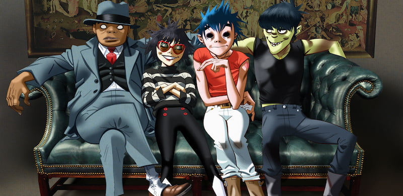 Gorillaz, X-ray Touring, Paradigm Talent Agency