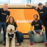 Nvite team, Eventbrite headquarters, San Francisco