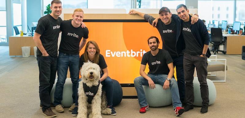 Nvite team, Eventbrite headquarters, San Francisco