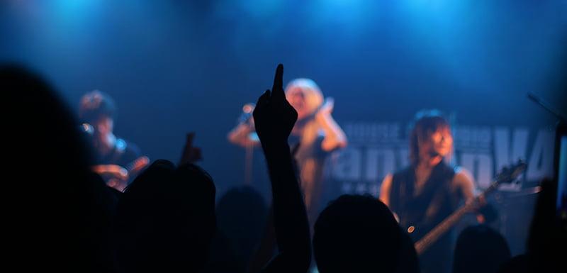UK Live Music Census, crowd show