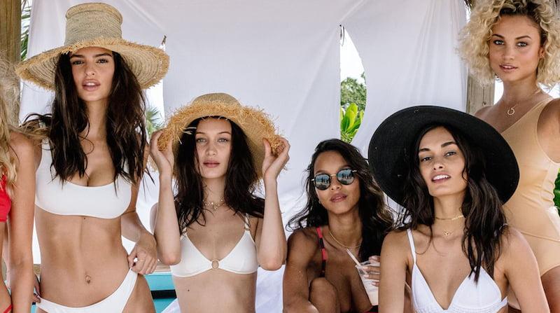 Models, Fyre Festival 2017 promo material