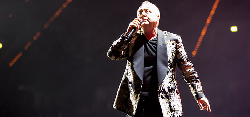 Jim Kerr, Simple Minds, Night of the Proms 2016, Mannheim, Germany, PSE Belgium, Sabam