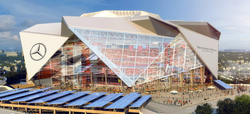 Mercedes-Benz Stadium, Atlanta, Georgia