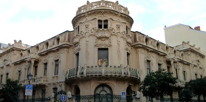 SGAE HQ, Longoria Palace, Madrid, Luis García