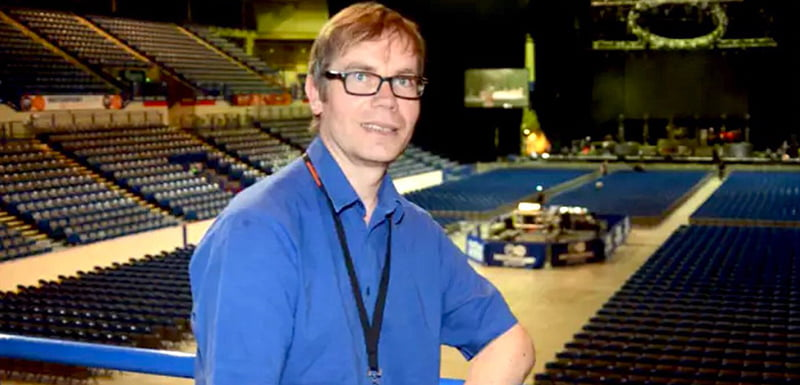 Rob O'Shea, Sheffield Arena