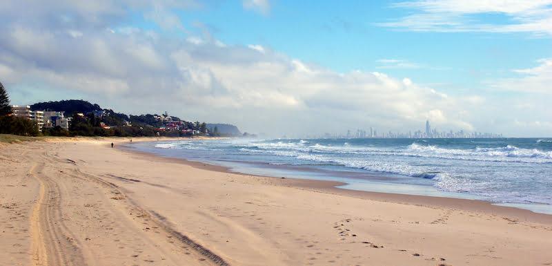 Coolangatta Beach, Gold Coast, Australia, SandTunes festival