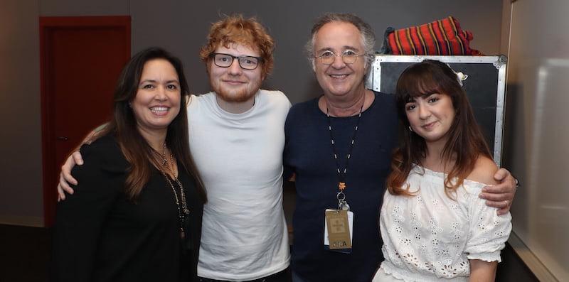 Ed Sheeran, Phil Rodriguez