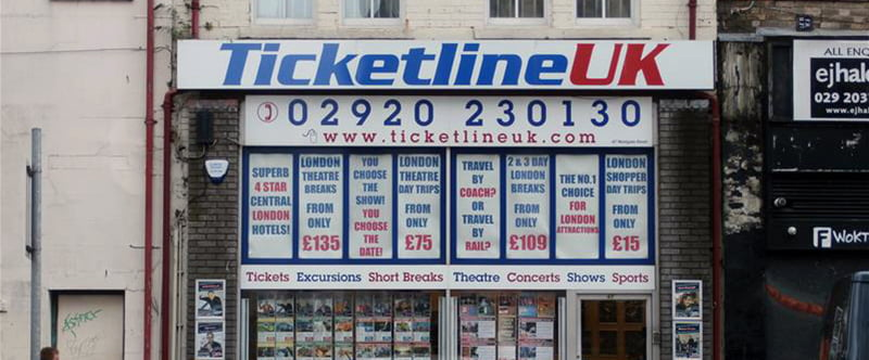 Ticketline UK, Cardiff