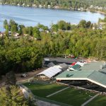 Bank of New Hampshire Pavilion is located on the shores of the state's largest lake, Lake Winnipesaukee