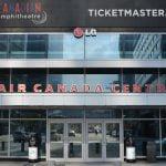 Ticketmaster Canada branding at Toronto's Air Canada Centre