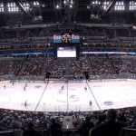 Pepsi Center in ice hockey configuration