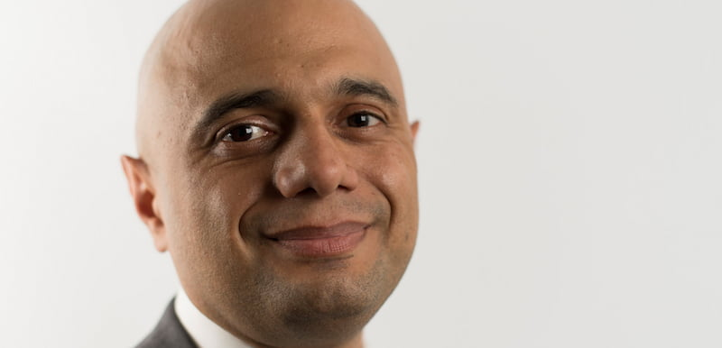 Housing secretary Sajid Javid