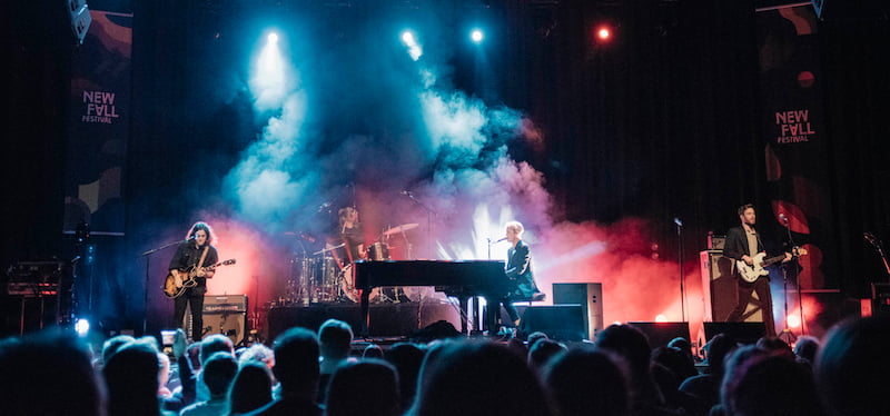 Tom Odell at New Fall Festival 2017 in Dusseldorf, SSC Festivals