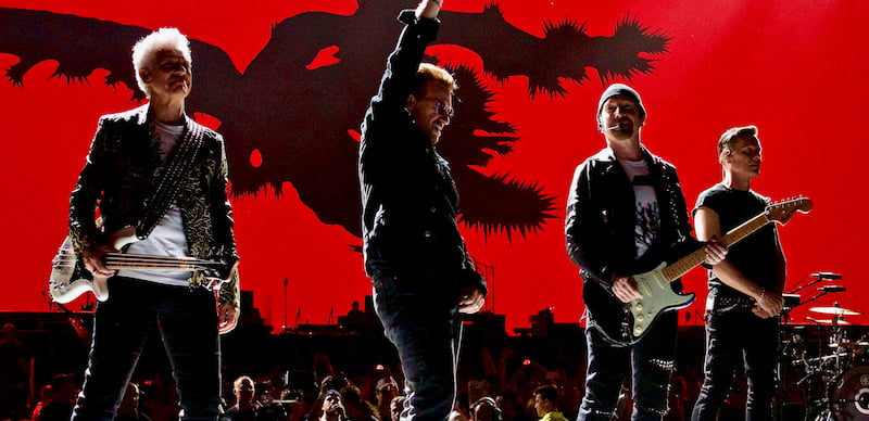 U2's Joshua Tree tour was the highest grossing of 2017