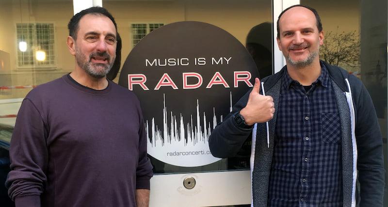 Fabrizio Pompeo, Giorgio Riccitelli, Radar Concerti