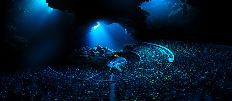 "Audiences will be immersed in multi-sensory environments that can be ""as large as the ocean"""