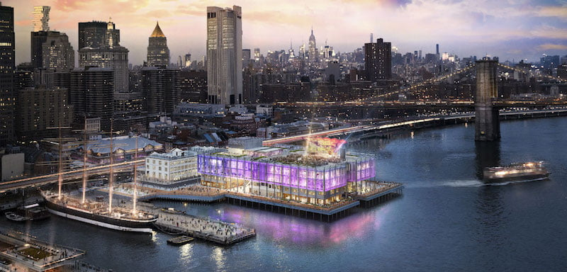Pier 17, Seaport District, Lower Manhattan