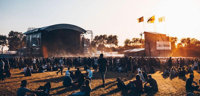 The 15,000-cap. Last Arena at Dour Festival, Belgium