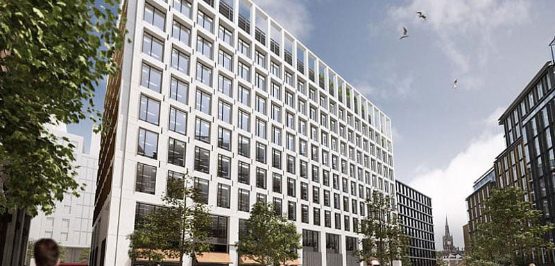 PRS's HQ is at 2 Pancras Square in King's Cross, London