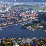Stockholm's Östermalm, Nybroviken and Gärdet