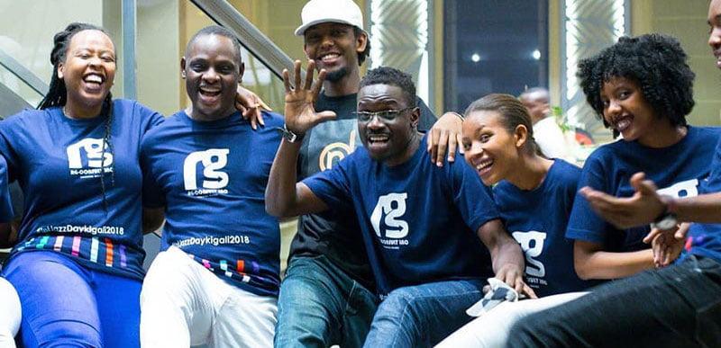 Team Kagali Jazz Junction at International Jazz Day 2018