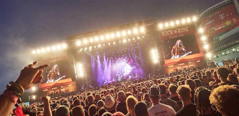 Foo Fighters headlined Rock am Ring 2018 on Sunday night