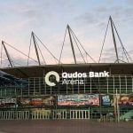 The Qudos Bank Arena located in New South Wales