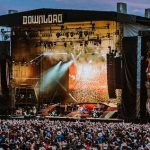 Guns n Roses onstage at Download 2018