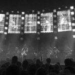 Radiohead performing in 2016