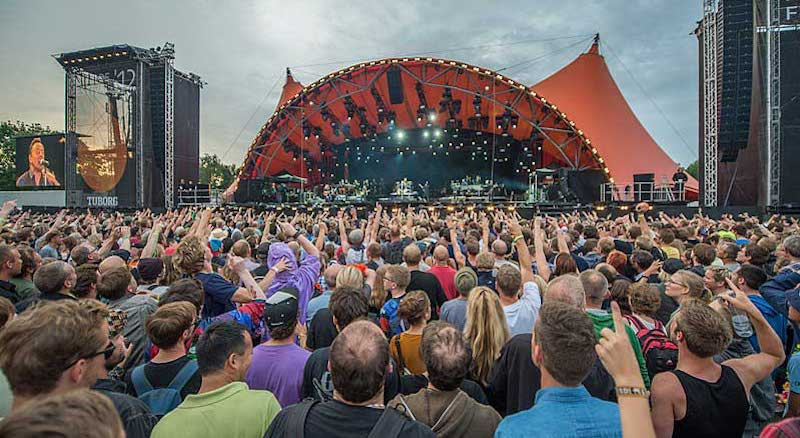 Roskilde Festival Group's Signe Lopdrup is part of the team