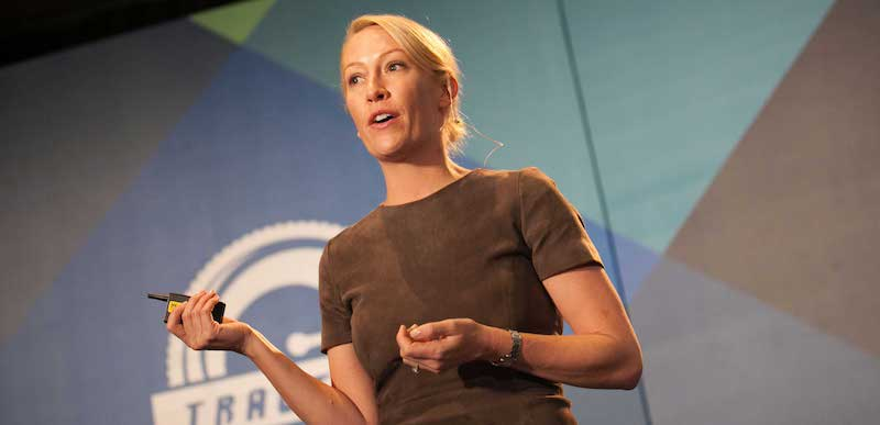 Julia Hartz, co-founder and CEO of Eventbrite, took over from husband Kevin in 2016
