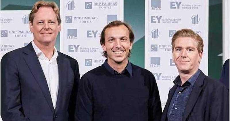 Pictured L-R: Ron Schuermans (CFO), David de Wever (CEO & cofounder), Dale Hofkens (CTO & PlayPass cofounder)