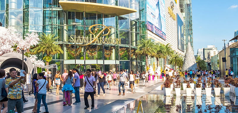 The Mall Group is also behind Siam Paragon in Bangkok