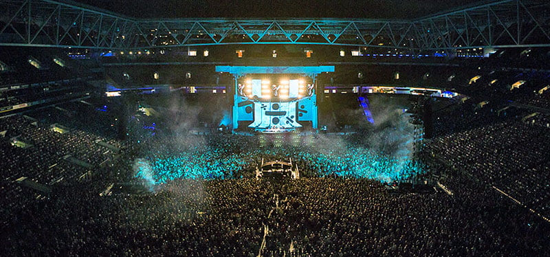 Frontier partnered with Ticketek for the record-breaking Australian leg of Ed Sheeran's ÷ tour