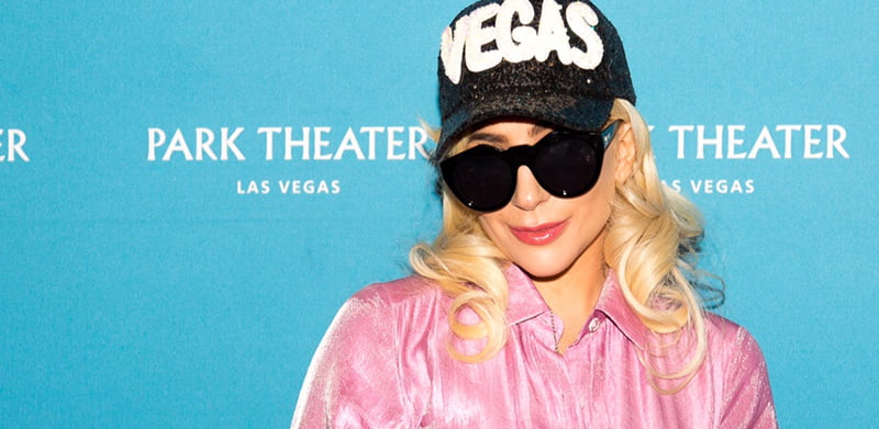 Gaga at the Enigma launch in August
