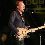 Sting performs at Dubai Jazz Festival 2016