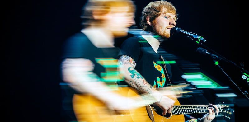 Ed Sheeran was 2018's most in-demand artist outside the US