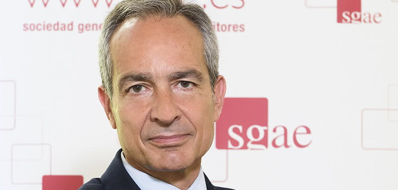 Gerardo Rodríguez was appointed director-general of SGAE in November