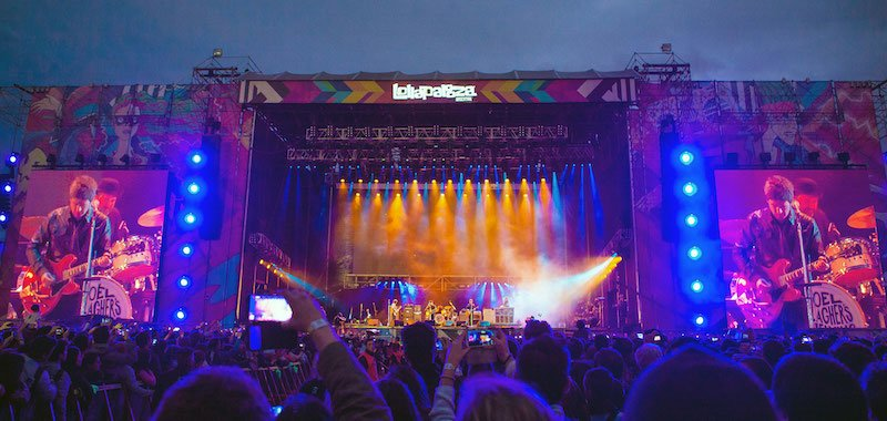 DF Entertainment is LN's local partner on Lollapalooza Argentina