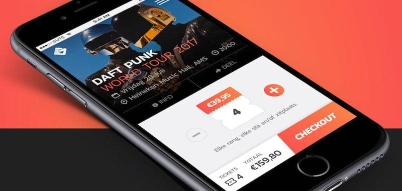 GUTS Tickets app, Daft Punk
