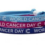 All Ticketmaster International employees received a World Cancer Day 2019 unity band