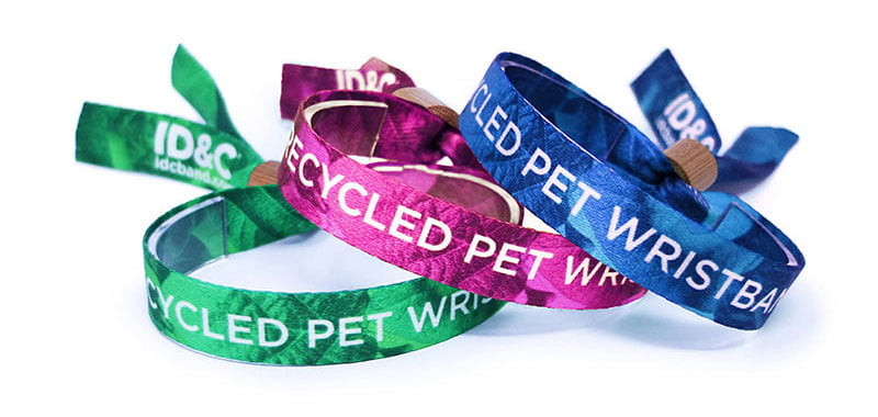 ID&C eco-friendly event wristbands