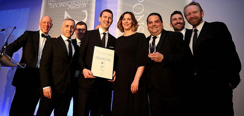 UK Sponsorship Awards: O2, AEG