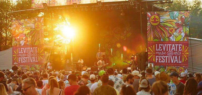 Live Nation acquires Levitate music festival