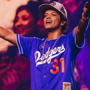 Bruno Mars brought his LN-promoted 24k Magic world tour to Tokyo last April