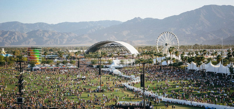 Coachella Festival returns on 12 April