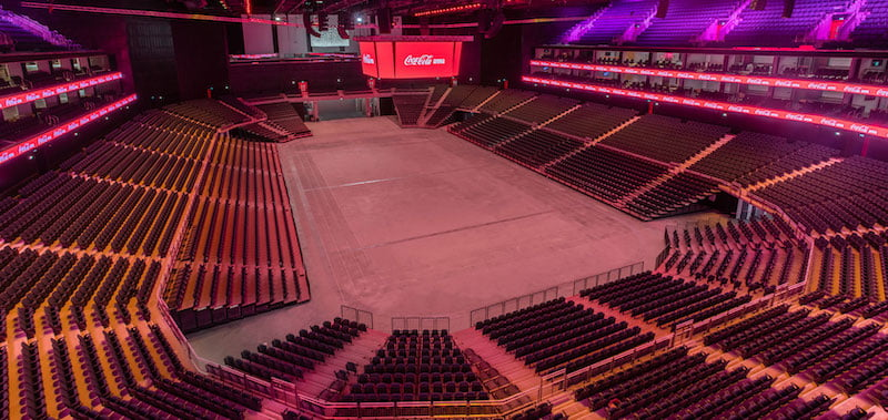 Coca-Cola Arena opens in June