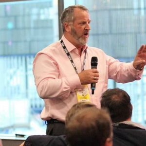 Eric Stuart speaks at 2017's inaugural Event Safety & Security Summit (E3S)